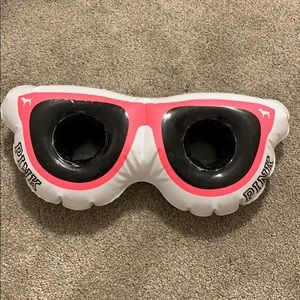 VS Pink sunglass blow up drink float!